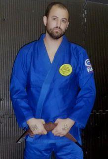 Gracie Signature Jiu Jitsu Gi by Fuji Blue bjj Uniform Kimono Free