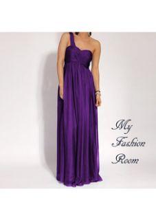 Stunning One Shoulder Cocktail Formal Evening Dress Jodhi size 14