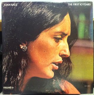 JOAN BAEZ the first ten years 1960 1970 2 LP Mint  VSD 6560/1 w/Book