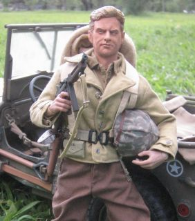 GI JOE CUSTOM 1 6 DRAGON DID WWII COMBAT SGT SAUNDERS VIC MORROW WITH