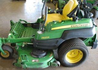 John Deere Z920A Z Trak Lawn Mower