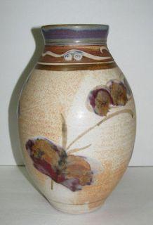 Joe Frank McKee Functional Pottery Vase Hand Thrown Signed