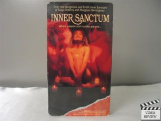 Inner Sanctum Unrated VHS Joseph Bottoms Tanya Roberts Margaux
