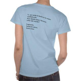 Ruben Dario Poema de Otoño T Shirt