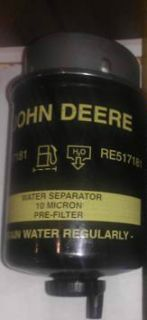 Brand New John Deere Fuel Filter RE517181