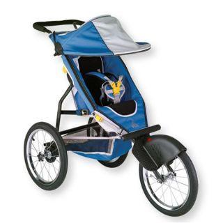 Speedster Lightweight Single Jogging Stroller Baby Travel Safety Gear