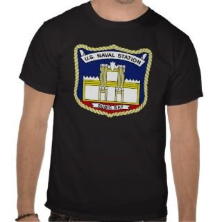 US NAVAL STATION SUBIC BAY PHILIPPINES Military Pa Tee Shirts