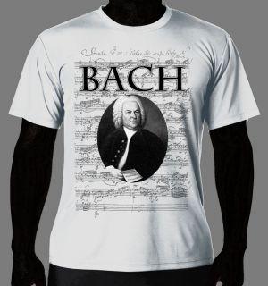 Art T Shirt Johann Sebastian Bach