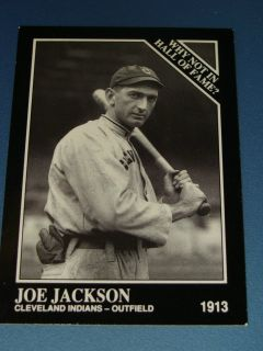 1991 SHOELESS JOE JACKSON 400 Prototype Indians Sporting News Conlon