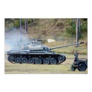 Centurion Tank   Vietnam War era Poster