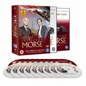Inspector Morse Complete Collection Boxset Brand New