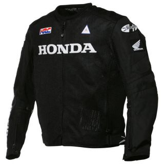 Joe Rocket Honda Performance Mesh Jacket Black 2X Large New