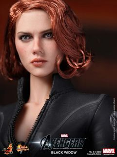 Toys The Avengers 2012 Black Widow Scarlett Johansson New 1 6
