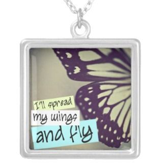 ll Spread My Wings Necklace