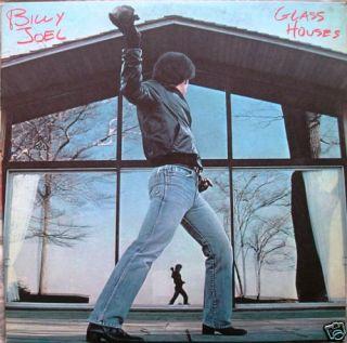 Billy Joel 1980 Glass Houses Vinyl LP Record