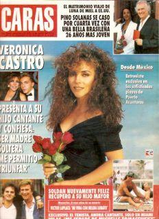 Tennis Guillermo Vilas John Kennedy Jr ARG Mag 1993