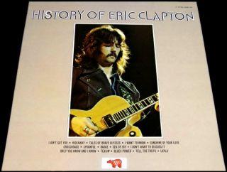 ERIC CLAPTON ~ 11 LP (13 RECORDS) BOX SET ~ RSO GERMANY 1981 w DELUXE