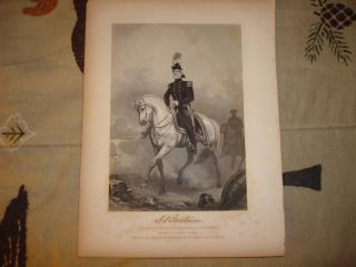 Antique Mexican American Print Mississippi John Quitman