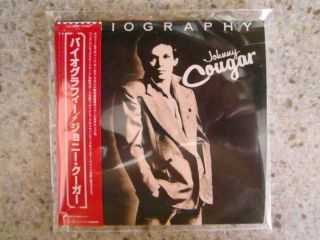 John Cougar Mellencamp Biography Japan mini LP CD Apr 2012 Universal