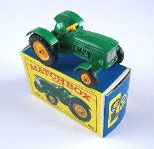 Matchbox Lesney 50 John Deere Farm Tractor 1964 MIB