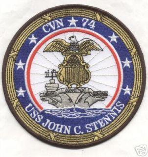 CVN 74 USS John C STENNIS Patch