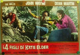CT65 Sons of Katie Elder John Wayne Dean Martin ITA C