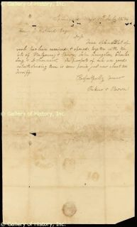 John Brown Autograph Letter Signed 07 11 1846