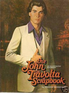 John Travolta Scrapbook An Illustrated Biography by Suzanne Munshower 1978