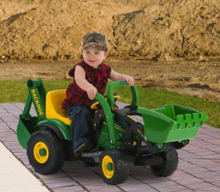 Peg Perego John Deere 6 volt Utility Tractor IGED1069