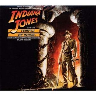 Indiana Jones The Temple of Doom Soundtrack CD New 888072310032