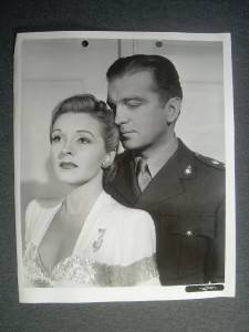 1940 Nancy Kelly John Loder Vintage Movie Photo 384K