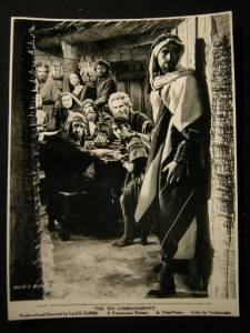 1956 John Derek The Ten Commandments Vintage Photo 938s