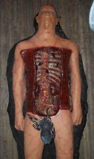 "Totally Spooky Life Size Autopsy John Doe Morgue ""Halloween Prop "" Cadaver"