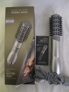 John Frieda JFHA5 Hot Air Brush Hair Care Salon For Beauty 1 1 2 Silver
