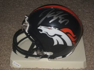 John Lynch Signed Auto Autographed Denver Broncos Football Mini Helmet Bucs