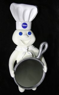 New Pillsbury Doughboy Mirror Wall Mount Hang Large 21""