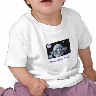 BEAUTIFUL BABY ~ Toddler tops T shirts from Zazzle