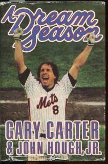 A DREAM SEASON METS GARY CARTER 1ST 87