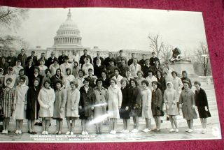 1964 John Marshall High School Class Photo Taken at DC