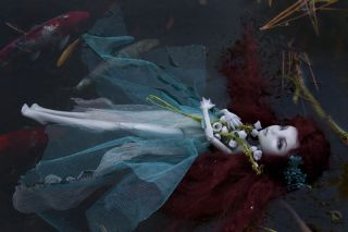 """Monster High Lagoona """"Ophelia"""" OOAK Doll Repaint by Candygears"""