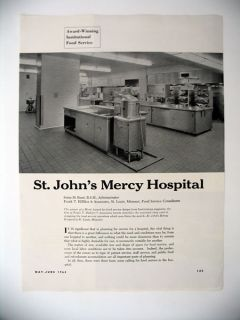 St John's Mercy Hospital Food Service St Louis Article