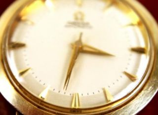 Vintage 1958 Omega Mens Watch Automatic 10K Gold Filled 6278 9 s n 16108587 4499