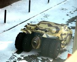 Batman The Dark Knight Rises Gotham City Screen Used Prop Snow Cuff Links