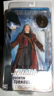"Jonah Hex Movie 7"" Quentin Turnbull Action Figure John Malkovich New NECA"