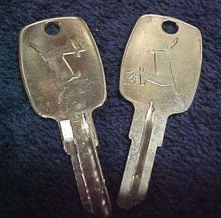 2 John Deere Logo Keys Locking Gas Cap Ignition