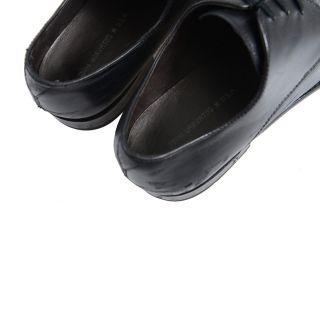 John Varvatos Leather Black Lace Up Dress Shoes Sz US 12 EU 46