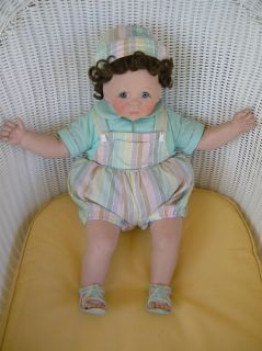"""Lee Middleton First Moments Twins Dolls """" Must See """""""