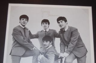 "The Beatles Signed John Lennon George Harrison Ringo Starr and Paul McCartney"""
