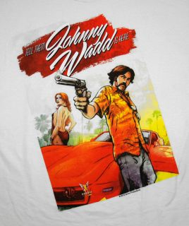 Johnny Wadd John Holmes Adult Film Star T Shirt Tee