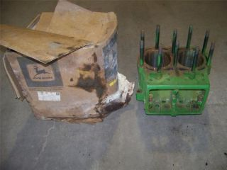 JOHN DEERE 720 730 DIESEL TRACTOR NEW OLD STOCK AF3703R BLOCK WITH BOX